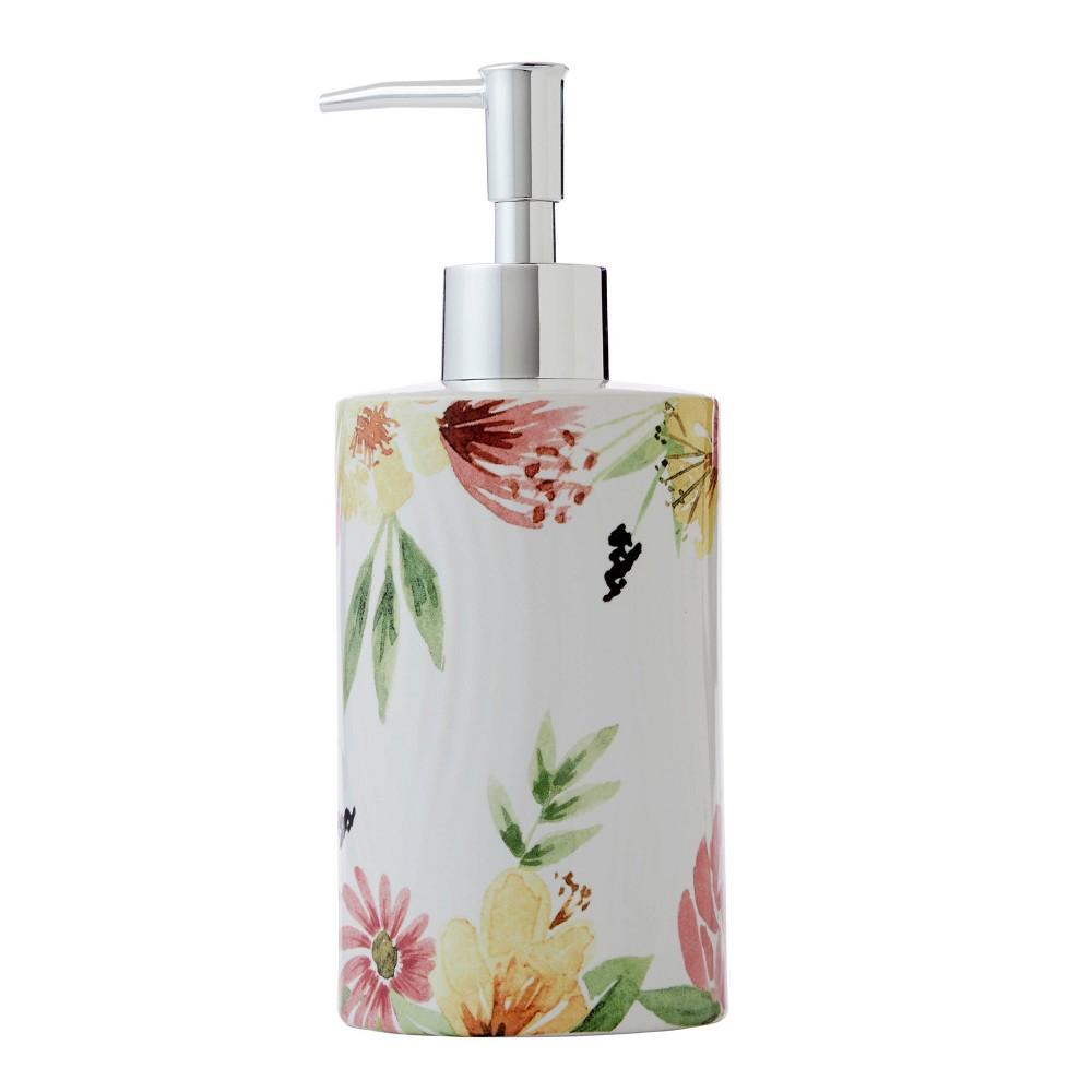 Farmhouse Floral Soap Dispenser Skl Home
