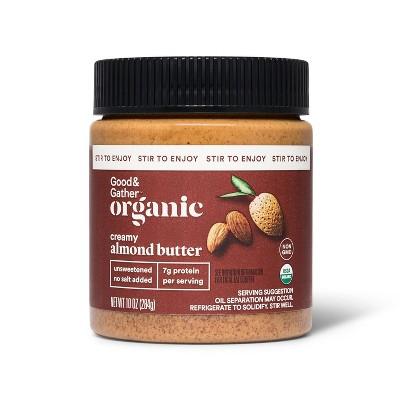 Organic Stir Creamy Almond Butter 10oz - Good & Gather™
