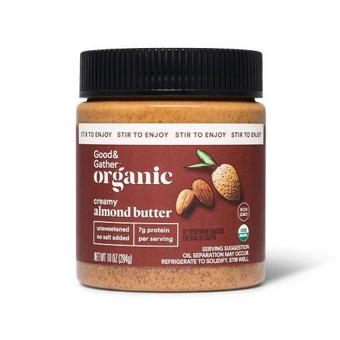 Organic Stir Creamy Almond Butter 10oz - Good & Gather™ - image 1 of 2