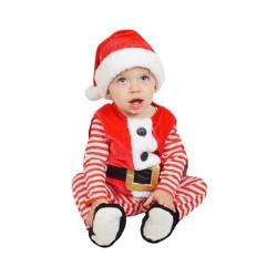 Baby Plush Santa Vest Costume - Wondershop™