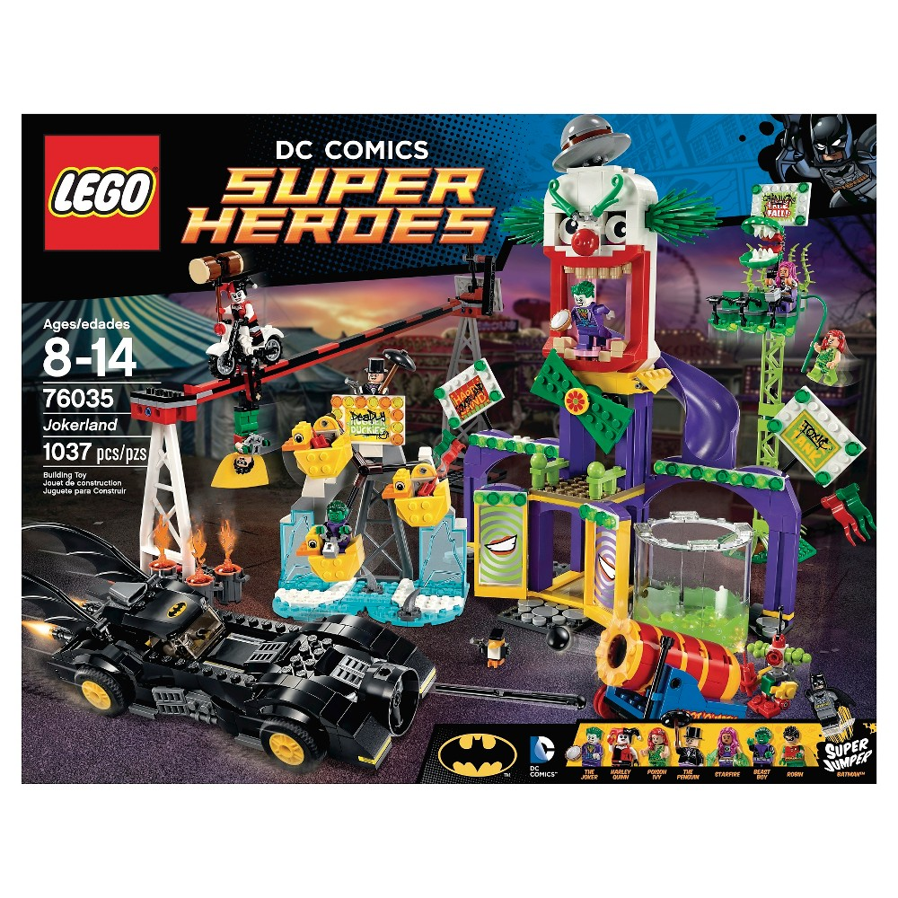 Lego Super Heroes Joker land 76035