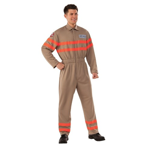 Ghostbusters Movie: Kevin Men's Deluxe Adult Jumpsuit Costume One Size Fits Most - image 1 of 1