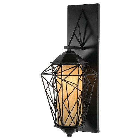 The Wright Stuff Small Outdoor Wall Fixture - Black - image 1 of 5