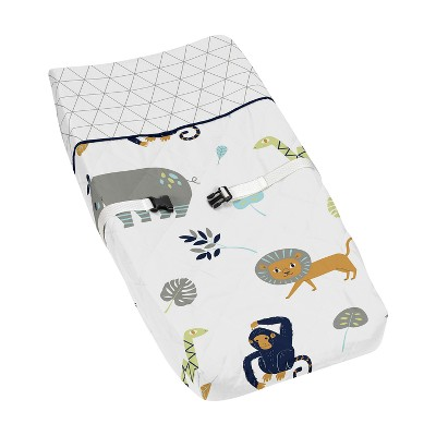 Sweet Jojo Designs Changing Pad Cover - Mod Jungle