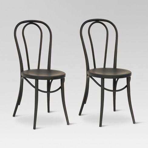 Emery Metal Bistro Chair Set Of 2 Threshold