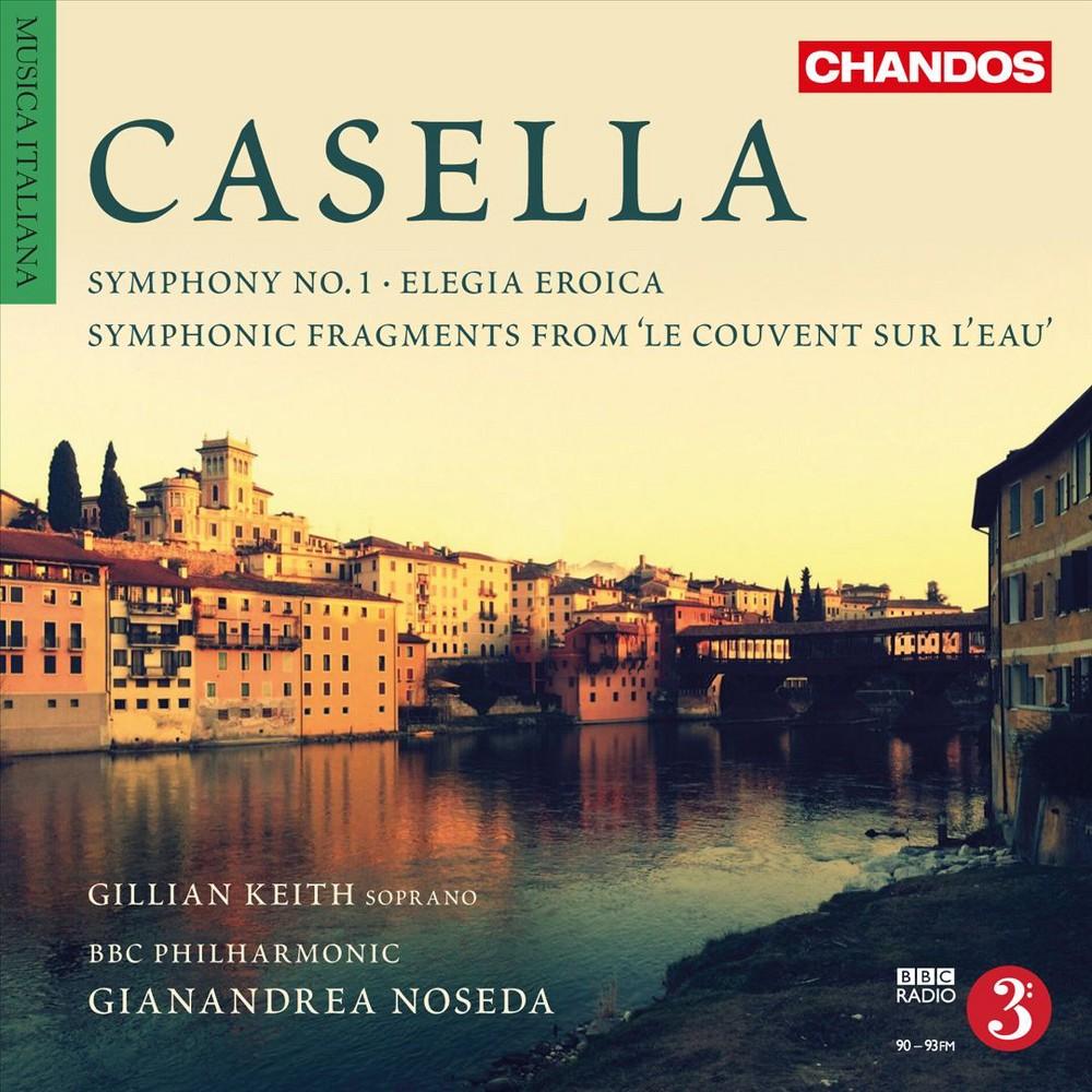 Bbc Philharmonic - Casella:Orchestral Works:Vol 4 (CD)
