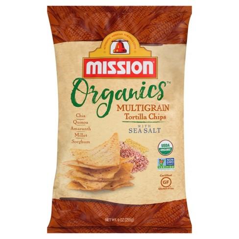 Mission Organics Multigrain Tortilla Chips - 9oz - image 1 of 1