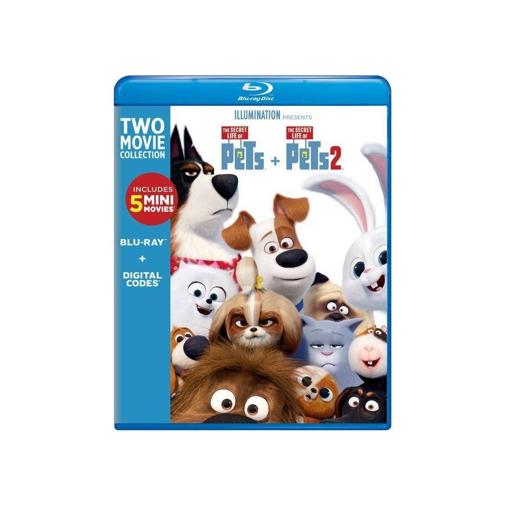 The Secret Life of Pets: 2-Movie Collection Blu-ray Now $14.99 (Was $34.98)