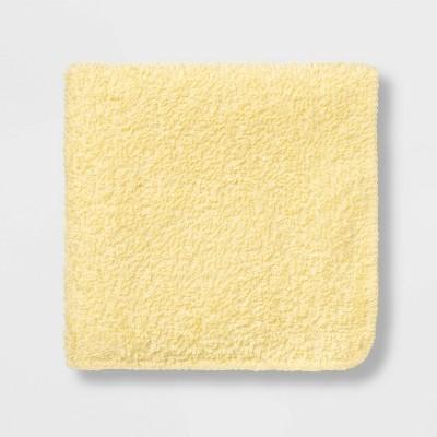 6pk Washcloth Yellow - Room Essentials™