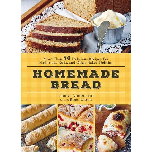 Homemade Bread - by  Linda Andersson (Hardcover) - image 1 of 1