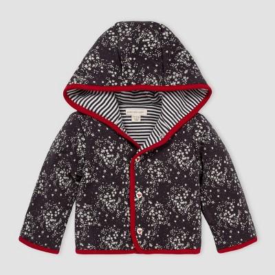 Burt's Bees Baby® Baby Organic Cotton Star Light Reversible Jacket - Gray 0-3M