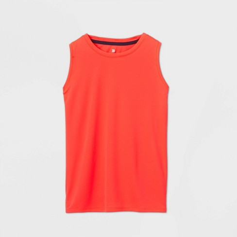 Girls' Muscle Tank Top - All in Motion™ - image 1 of 2