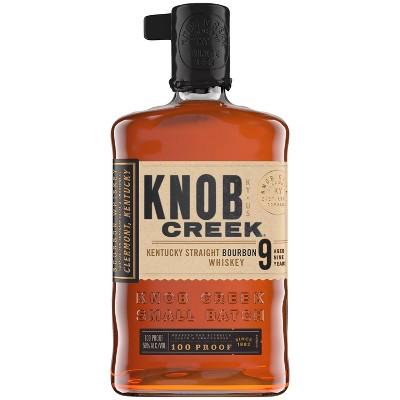 Knob Creek Kentucky Straight Bourbon Whiskey - 750ml Bottle