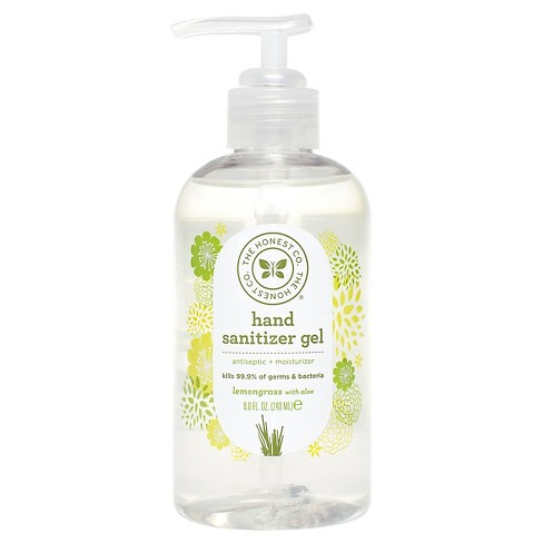 The Honest Company® Lemongrass With Aloe Hand Sanitizer Gel - 8oz - image 1 of 2