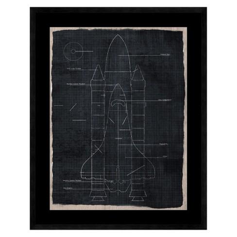 Rocket Wall Art - image 1 of 2
