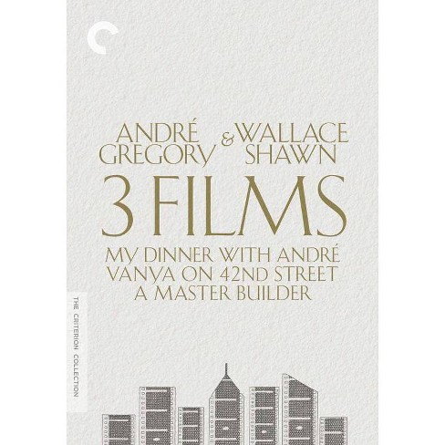 Andre Gregory & Wallace Shawn: 3 Films (DVD) - image 1 of 1