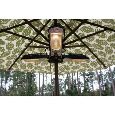 Parasol Electric Patio Heater - Black - AZ Patio Heaters