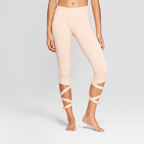 723f856a3e9 Women s Comfort Side Tie Mid-Rise Capri Leggings - JoyLab™ Dusty ...
