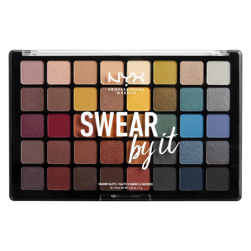 NYX Professional Makeup Swear By It Eye Shadow Palette - 10.76oz