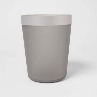 Wastebasket Gray - Room Essentials™