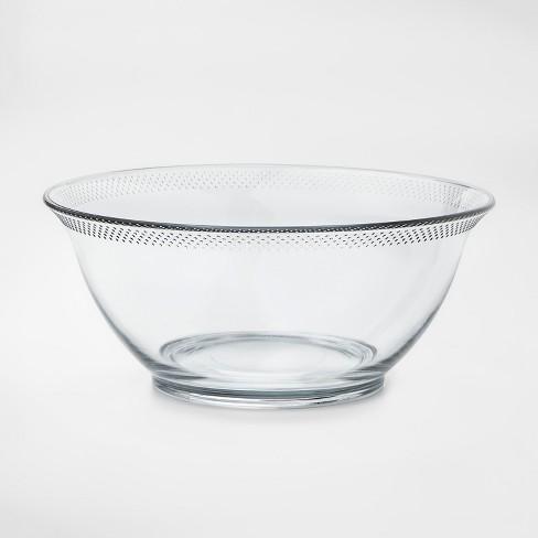 84oz Glass Hobnail Serving Bowl - Threshold™ - image 1 of 1