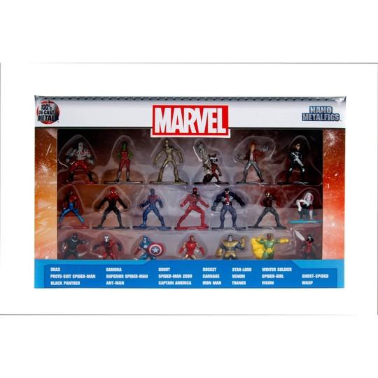 """Jada Toys Nano Metalfigs Marvel Die-Cast Figures 1.65"""" 20-Pack image number null"""