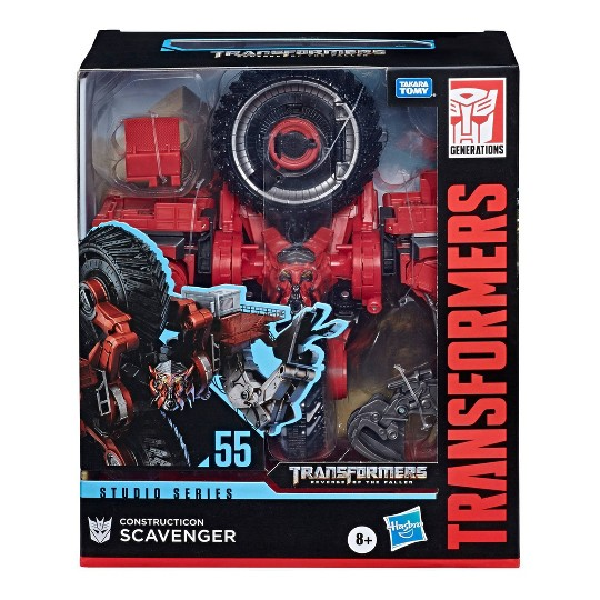 Transformers Studio Series Leader Class Constructicon Scavenger Action Figure image number null