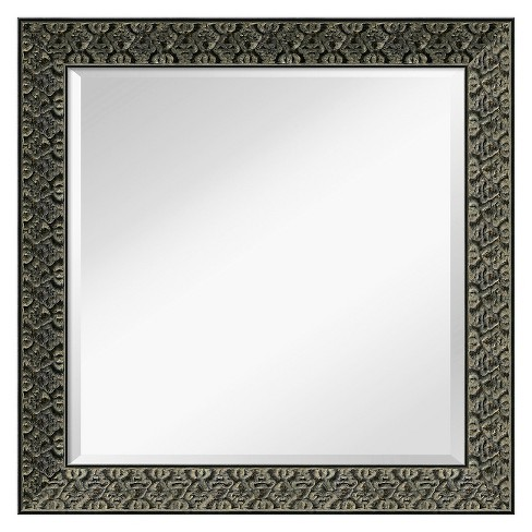 Square Ornate Black Frame with Gold Highlights - Amanti Art - image 1 of 9