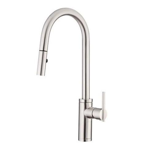 Danze D454058 Parma Cafe Single Handle Pull-Down Spray Kitchen Faucet