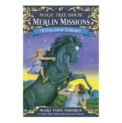 Stallion by Starlight ( Magic Tree House; A Merlin Mission) (Paperback) by Mary Pope Osborne - image 1 of 1