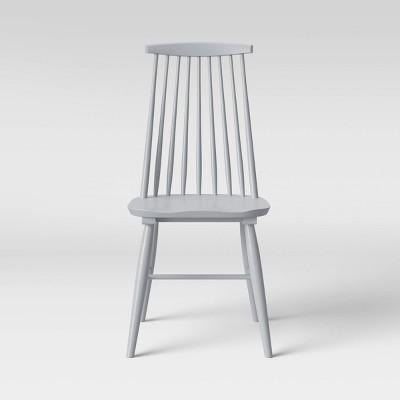 Harwich High Back Windsor Dining Chair Gray - Threshold™