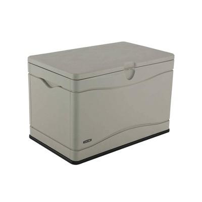 24  80gal Outdoor Storage Box Beige - Lifetime