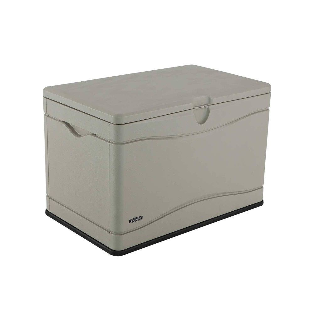 "Image of ""24"""" 80gal Outdoor Storage Box Beige - Lifetime"""