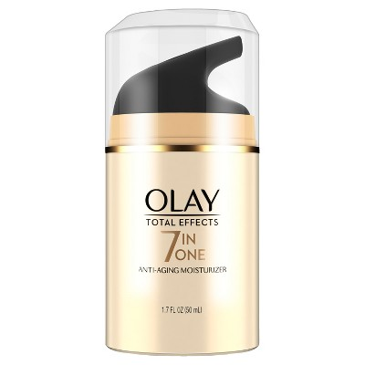 Facial Moisturizer: Olay Total Effects 7-in-One Moisturizer
