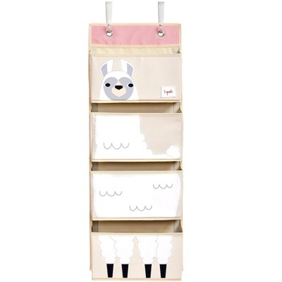 3 Sprouts Hanging Wall Organizer- Storage for Nursery and Changing Tables