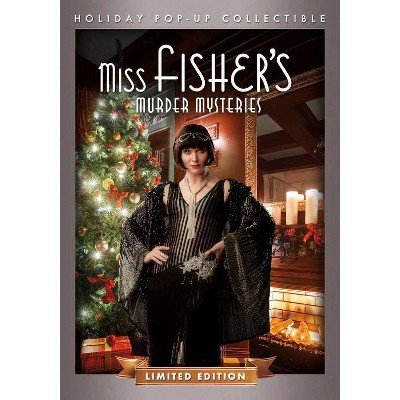 Miss Fisher's Murder Mysteries: Holiday Pop-Up Collectible (DVD)