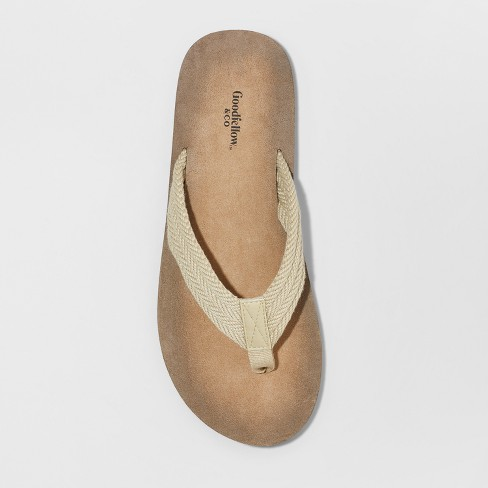 a9092bcb5e9e Men s Remington Flip Flop Sandals - Goodfellow   Co™ Tan S   Target