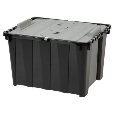 IRIS 48 Qt. Wing Lid Plastic Storage Bin