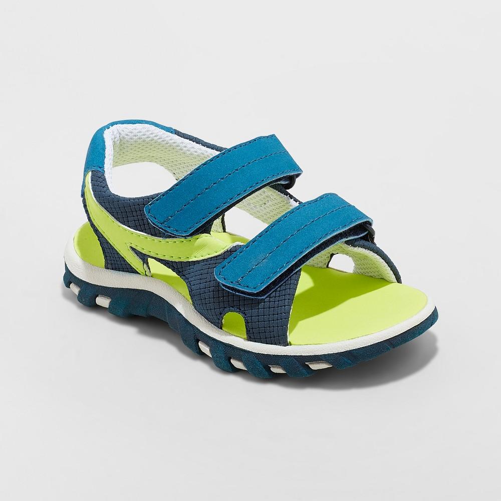 Toddler Boys' Parrish Hiking Sandals - Cat & Jack Navy 5, Blue