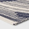 "1'8""X2'10""/20""X34"" Damask Woven Accent Rug Navy/Off White - Room Essentials™ - image 2 of 3"