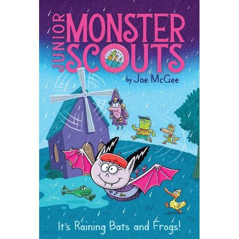 It's Raining Bats and Frogs! - (Junior Monster Scouts) by  Joe McGee (Paperback) - image 1 of 1
