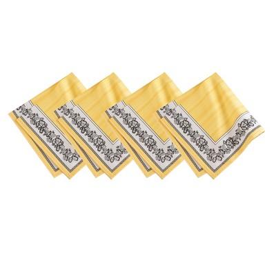 "Villeroy & Boch - Audun Cotton Fabric Napkin Set of 4 - 21"" x 21"""