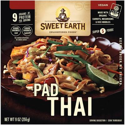 Sweet Earth Frozen Pad Thai - 9oz