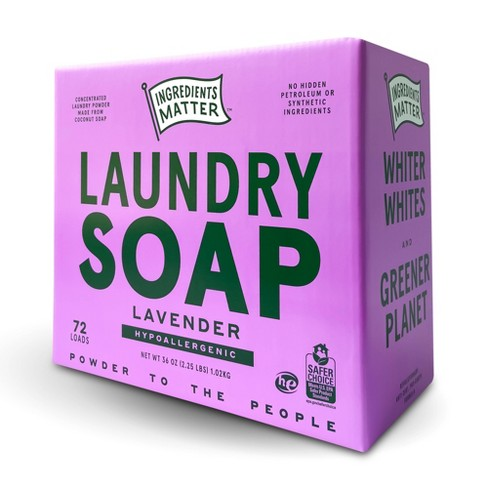 Ingredients Matter Lavender Laundry Soap Powder - 36oz - image 1 of 4
