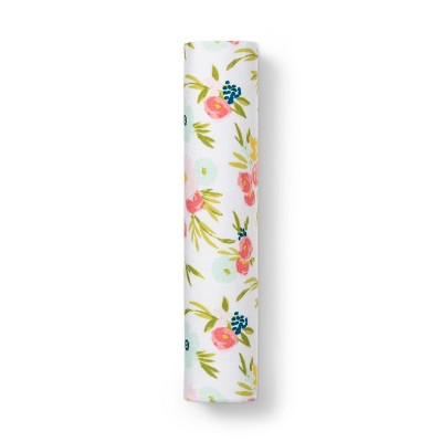 Muslin Swaddle Blanket Floral - Cloud Island™