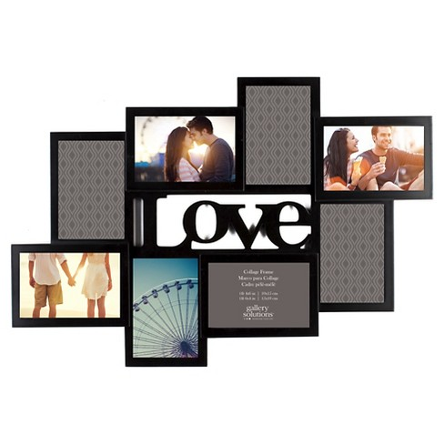 "Gallery Solutions 4""x6"" Collage Frame - Black - image 1 of 3"