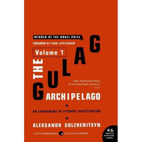 The Gulag Archipelago, 1918-1956 - by  Aleksandr I Solzhenitsyn (Paperback) - image 1 of 1