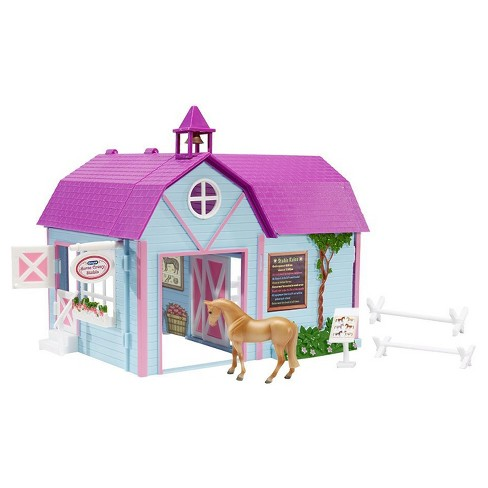 Breyer Stablemates Horse Crazy Stable - image 1 of 4