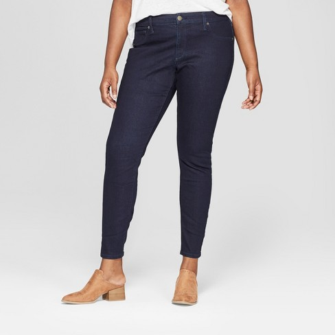 4ccecb95bb6cd1 Women's Plus Size Jeggings - Universal Thread™ Rinse Wash : Target