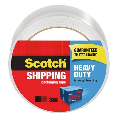 Scotch Heavy Duty Shipping Packaging Tape 1.88in x 65.6yd